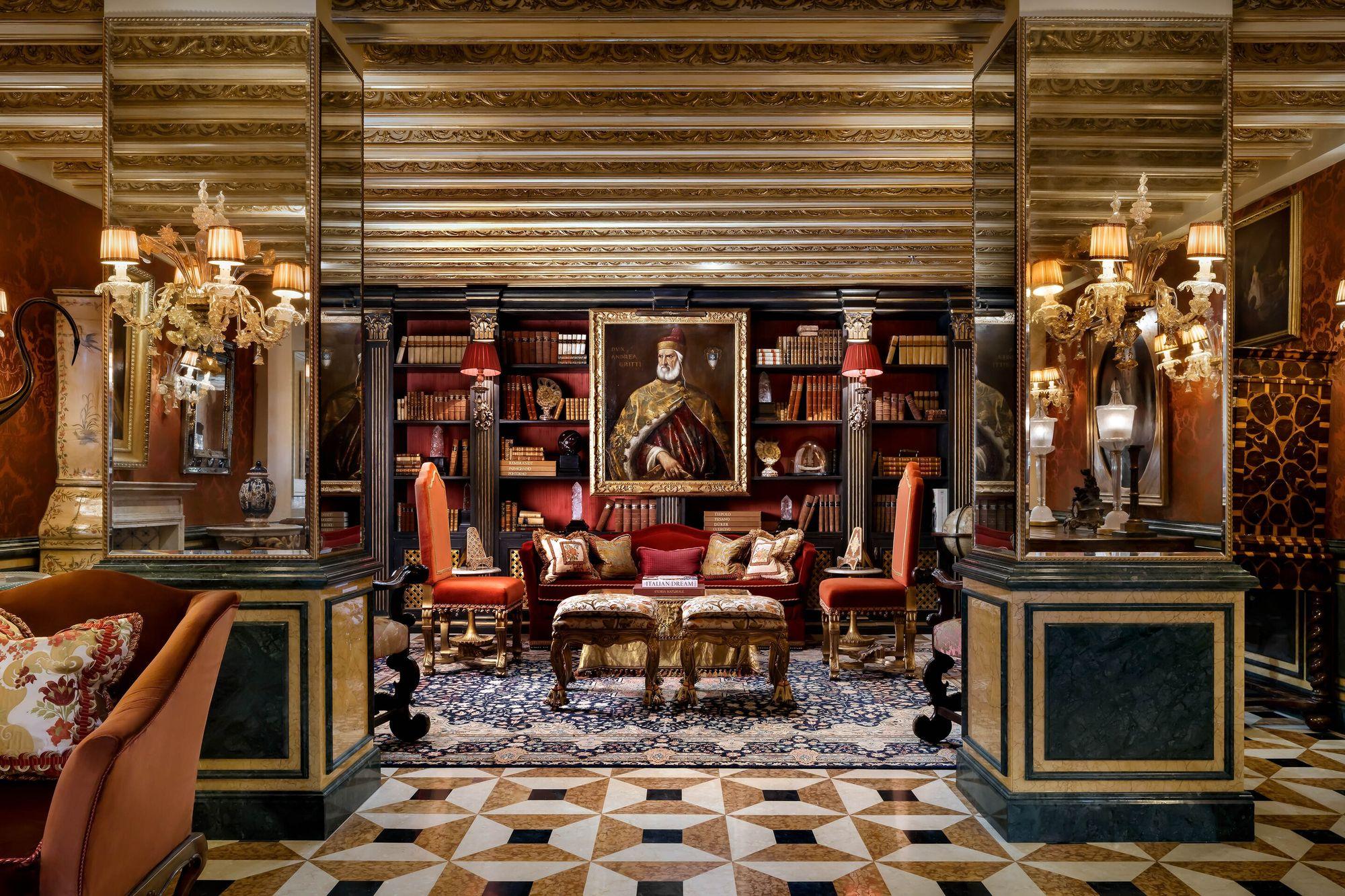 A sensory overload awaits at this 15th-century Venetian palazzo.